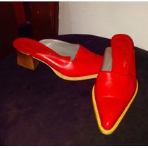 Zapato Emily Rodin Rojo Carmesí T35