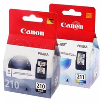 Cartuchos Canon 210 Y 211 Oferta Ambos