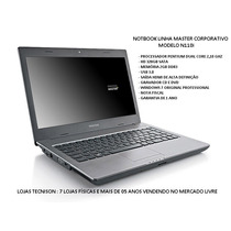 Notbook Positivo Master N110i 14 Intel 320gb 2gb Hdmi Usb3.0
