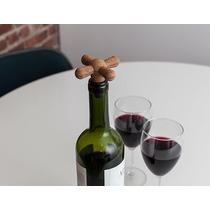 Corcho Para Botellas De Vino Tipo Llave Tapón Kikkerland