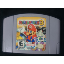 Cartucho Nintendo 64 - Mario Party 3 Original Americano Veja
