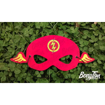 Antifaz Mascara Infantil Superheroes Goma Eva X 10 Unidades