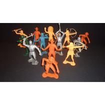 Figuras Marx Toys Plastimarx Vintage Indios Vaqueros Soldado