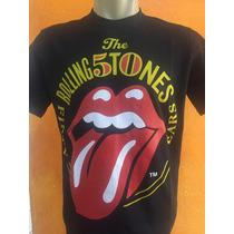 Camiseta De Rock Banda The Rolling Stones