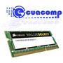 Memoria Ram Corsair Ddr3 So-dimm 8gb Pc3-12800 1600mhz Lapto