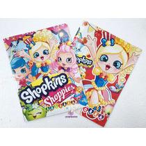 Libro Colorear Regalo Recuerdo Bolo Fiesta Shopkins