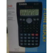 Calculadora Cientifica Casio Fx 82ms Doble Linea