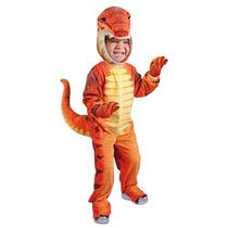 Disfraz Carnavalito Dinosaurio T-rex Niño Talla 04-06