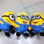 Juguete Minions - Peluches De Minions Ojos 3d - 18 Cm