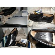 Zapatos Para Caballeros Sebago Classic Negro Talla 8.5 B.