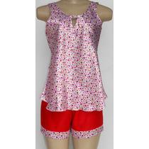 Baby Doll (short Doll) Blusa Camiseta Em Cetim - Promoção