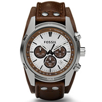 Fossil Cuff Chronograph Leather Ch2565 ¨¨¨¨¨¨¨¨¨¨¨¨dcmstore