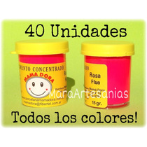 Todos Los Pigmentos / Colorantes Porcelana Fria Mama Dora