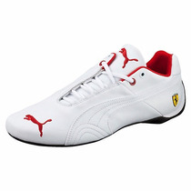 Zapatillas Puma Ferrari Future Cat Leather Sf Blanco