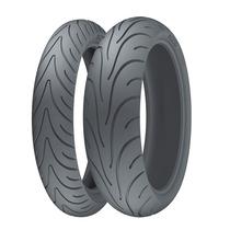 Combo Pneu Moto Michelin Pilot Road 2 120/70-17 + 180/55-17
