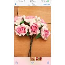 Combo 100 Flores Papel Surtidas + 40 Vinchas! Oferta!!