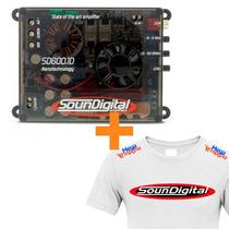 Modulo Soundigital Sd600 Sd600.1 600w Rms + Camiseta Brinde