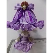 Abajur,decoração Quarto,bonecas De Pano,bailarinas,menino.