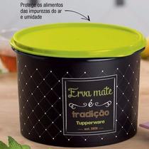 Tupperware Caixa Pote Erva Mate 2,4 Litros