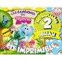 Decoracion Total Imprimir Canciones Zoo Cotillon Candybar
