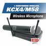 Microfono Kcx4 Sistema Inalambrico Profesional Karaoke Music