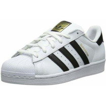 Adidas Superstar Blanca Negra Original 35-36-37-38
