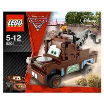 Lego Grua Mater 8201. Disney Pixar Cars. 52 Piezas