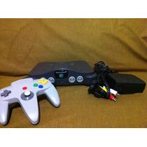 Consola N64 Nintendo 64 Completo Con Un Juego, Garantía
