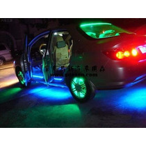 Kit Luces Neon Bajo Piso Chasis Led Multcolor Control Remoto
