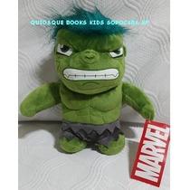 Boneco Pelúcia Incrivel Hulk (os Vingadores) Já No Brasil