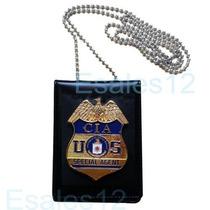 Colección Usa Placa De Policía Oficial De Agente De La