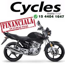 Yamaha Ybr 125 Full Anticipo $10.000 Saldo En 12 Cuotas !!