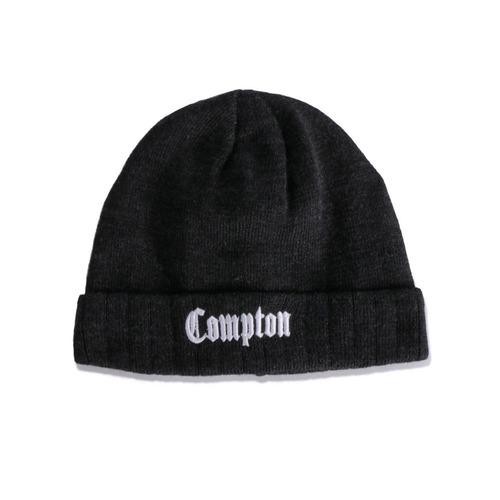 29d3e64ad7e15 Touca Gorro Chronic Compton Cinza Chumbo - R  79