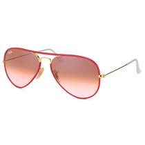 Óculos De Sol Ray Ban Aviador Full Color Rb3025-j-m 001/x3