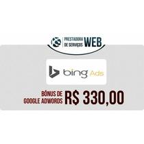 Cupom Bing Ads 330,00 De Crédito Livre Anuncie Na Internet.