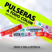 Millar De Pulseras Sublimadas, Pulseras Urgentes,impresas