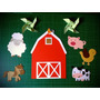 Unicos! Kit Cumple Granja/ Animales/ Decoracion / Candy!