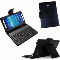 Capa Case Couro Teclado Samsung 8.0 Galaxy Tab 4, T330, T331