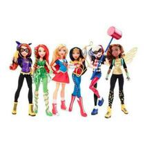 Gratis Envio Dhl Dc Super Hero Girls Mattel 6 Pack