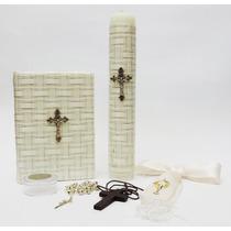 Set Biblia Latino Mexicana Para Primera Comunion (02ft01)