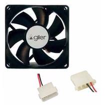 Fan Cooler Ventilador Extractor 12 Cm X 12 Cm Molex Pc Ccc