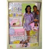 Barbie Midge&baby Grávida Happy Family Mattel