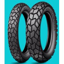 Roda Pneu 90/90-19+110/90-17 Michelin Bros 125/150/160 Par