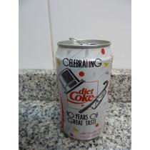 Lata Diet Coke Vacia Celebrating 10 Years Of Great Taste1992