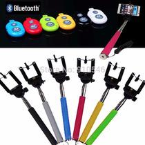 Selfies Stick Bluetooth Baston Control Remoto Android Iphone