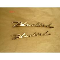 Par Emblemas Datsun Bluebird 1967 Y 1968