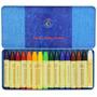 Stockmar Alemania Caja Metal 16 Crayones Lápices Cera Abeja