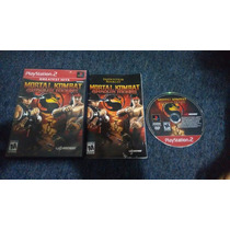 Mortal Kombat Shaolin Monks Completo Pàra Play Station 2