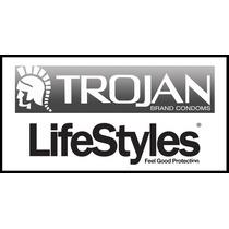 Paquete De 100 Condones Lifestyles / Trojan Gran Oportunidad