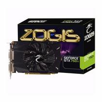 Placa De Vídeo Vga Zogis Geforce Gtx750ti 2gb Ddr5 128bits